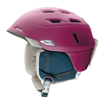 Casco de esquí mujer COMPASS matte grape
