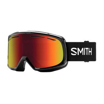 Masque de ski femme DRIFT black / red sol-x mirror