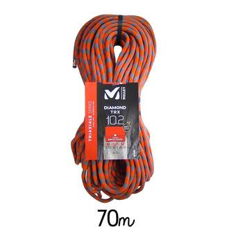 Corde à simple DIAMHY 10,2mm/70m orange