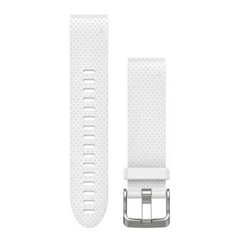 Bracelet silicone QUICKFIT 20mm blanc