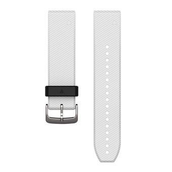 Garmin QUICKFIT - Bracelet silicone 22mm blanc
