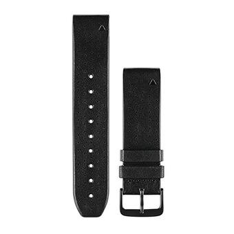 Bracelet cuir QUICKFIT 22mm noir