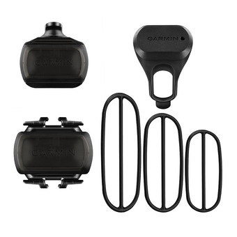 Sensores de velocidad y cadencia para bici BIKE SPEED CADENCE negro