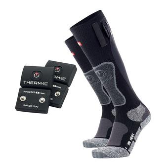 Therm-Ic POWERSOCKS - Calze riscaldanti nero/grigio
