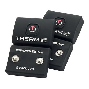 Pack de 2 batería S-PACK 700 negro