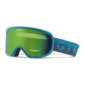 Gafas de esquí mujer MOXIE marin horizon - loden green