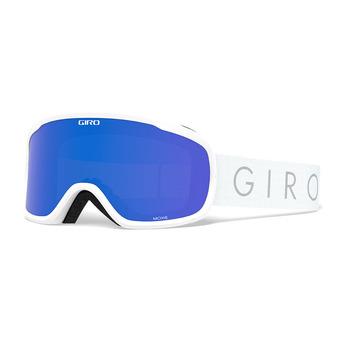 Giro MOXIE - Maschera da sci Donna white core light grey cobalt