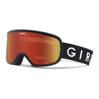 Gafas de esquí ROAM black - amber scarlett