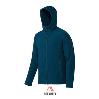 Polaire zippée à capuche Polartec® homme RIME TOUR IN orion