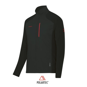 Veste Polartec® homme FORAKER HYBRID LIGHT graphite/black
