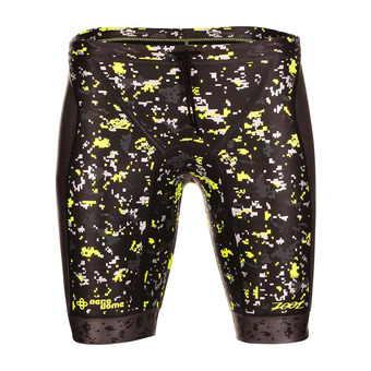Jammer hombre WAVE BUOYANCY black/high viz yellow