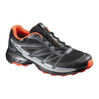 Zapatillas de trail hombre WINGS PRO 2 GTX black/cld/rd