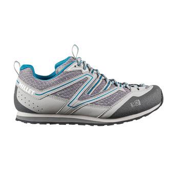 Zapatillas de aproximación mujer SANDSTONE grey/blue