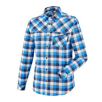 Camisa hombre MANAKARA poseidon/electric blue