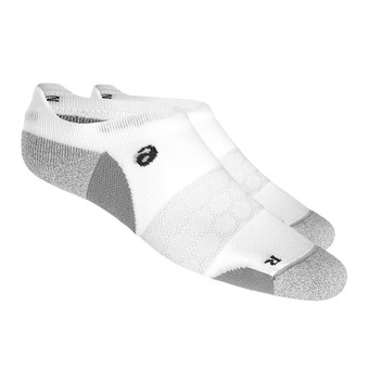 Socquettes ROAD NEUTRAL PED SINGLE TAB real white/ mid grey