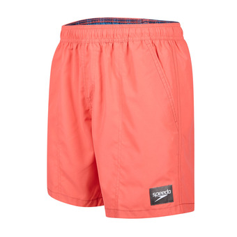 Bañador tipo short CHECK TRIM LEISURE navy/red