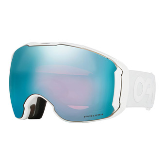 Gafas de esquí + pantalla suplementaria AIRBRAKE XL polished white/prizm sapphire iridium & prizm hi pink iridium