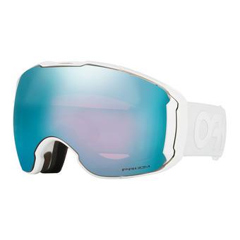 Masque de ski AIRBRAKE XL polished white - prizm snow sapphire iridium® + prizm rose