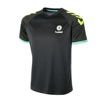 Camiseta hombre TROPHY negro/amarillo