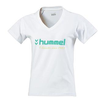 Hummel UH 18 - Camiseta mujer white ceramic