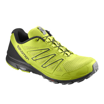 Trail Shoes - Men's -  SENSE MARIN lime green/Bk/quarry