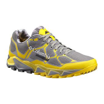Zapatillas de trail hombre TRANS ALPS F.K.T. light grey/electron yellow