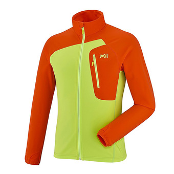 Veste polaire homme PIERRA MENT acid green/orange