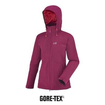 Chaqueta Gore-Tex® mujer LD MONTETS velvet red