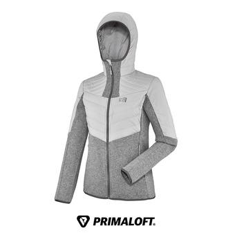 Chaqueta Primaloft® mujer DUAL ICELAND heather grey