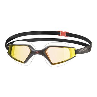 Gafas de natación AQUAPULS MAX MIRROR 2 black/gold