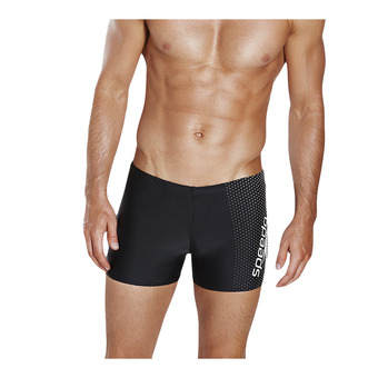 Speedo GALA LOGO - Swimming Trunks - Men's - black/grey