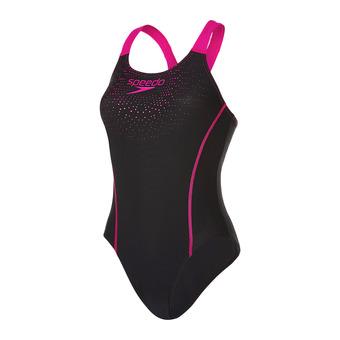 Bañador mujer GALA MEDALIST black/pink