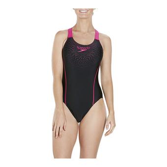 Swimsuit - 1 Piece - Women's - GALA MEDALIST black/pink