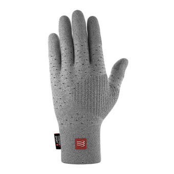 Guantes 3D THERMO SEAMLESS gris