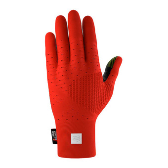 Guantes 3D THERMO SEAMLESS red/black