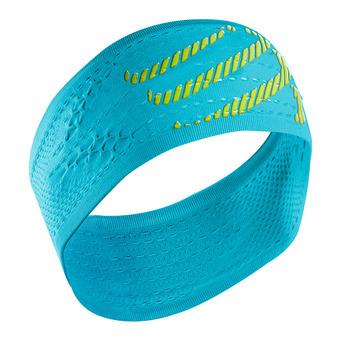 Cinta deportiva ON/OFF neon blue