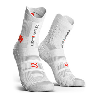 Calcetines PRORACING V3.0 TRAIL  red/white