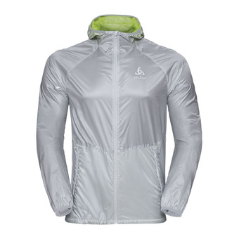 Chaqueta hombre ZEROWEIGHT silver/acid lime