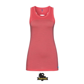 Odlo NATURAL CERAMIWOOL - Camiseta de tirantes mujer dubarry
