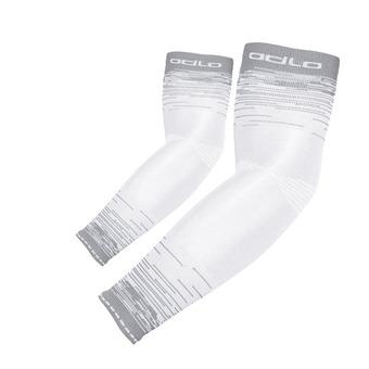 Manguitos CERAMICOOL UVP white/odlo silver grey