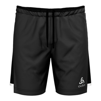 Odlo ZEROWEIGHT CERAMICOOL LIGHT - 2 in 1 Shorts - Men's - black/black