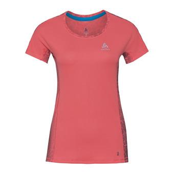 Odlo OMNIUS - Camiseta mujer dubarry/aop