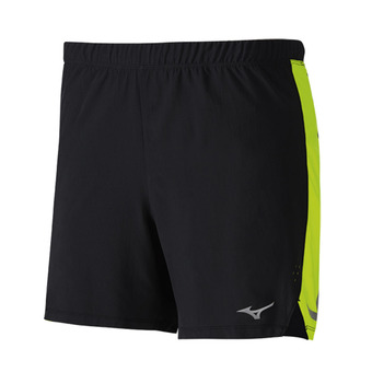Short hombre AERO 4.5 black/safety yellow