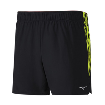Short hombre ALPHA 5.5 black/safety yellow