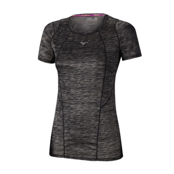 Camiseta mujer ALPHA VENT black prt