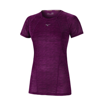 Mizuno ALPHA VENT - Camiseta mujer clover prt