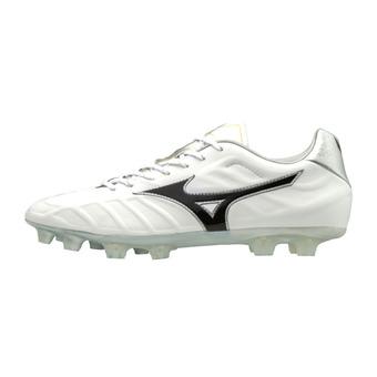 Botas de fútbol/rugby hombre REBULA V2 white/black/silver