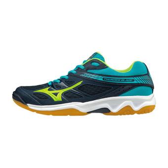 Zapatillas de voleibol hombre THUNDER BLADE blue/green/blue