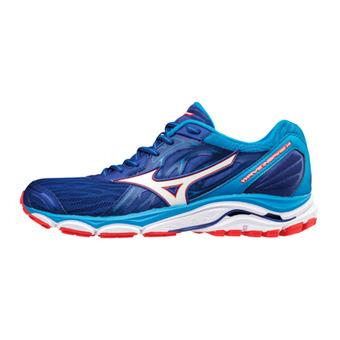 Zapatillas de running hombre WAVE INSPIRE 14 surftheweb/whi/poppyred