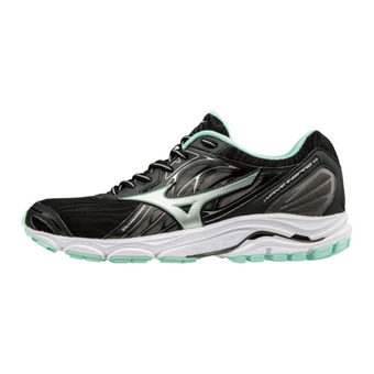Chaussures de running femme WAVE INSPIRE 14 black/silver/yucca